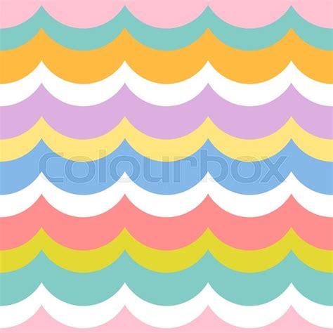 cute kid pattern babies and kids geometric vector pattern in retro style