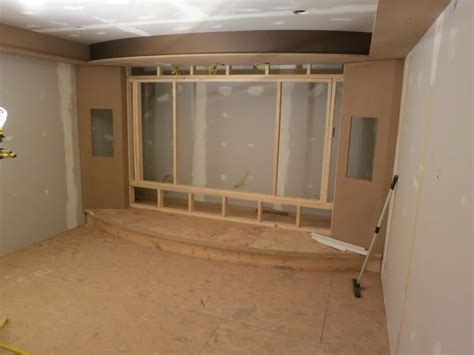 images  home theater build  pinterest