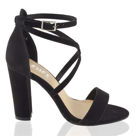Murano Sandal Heels 5 Cm Pink womens strappy sandals peep toe block heel cross