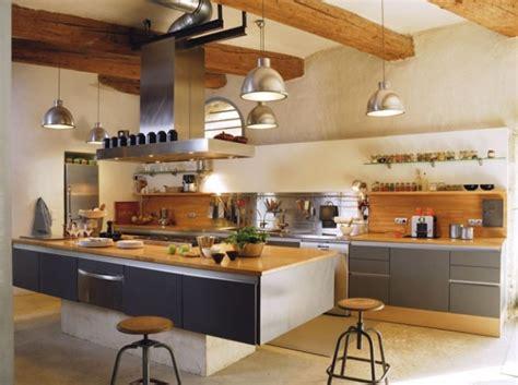 cuisine type industriel deco cuisine style industriel