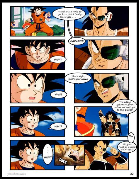 Porn Comics Of Dragon Ball Z - dragonball z abridged the manga page 032 by