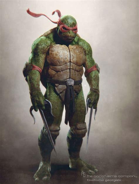 raphael ninja turtles movie 2014 arte conceptual de las tortugas ninja cinergetica