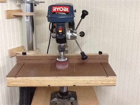 replacement drill press table build the ultimate drill press table youtube