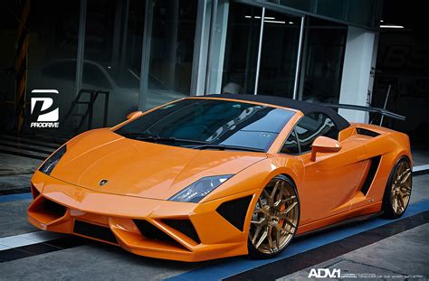 Lamborghini Gallardo Lp560 4 Orange Set 2 Pcs lamborghini gallardo lp560 adv7 m v2 cs series wheels