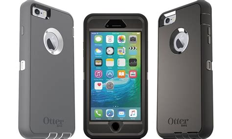 Promo Otterbox Defender Series Iphone 6 6s Indigo Harbor otterbox defender series for iphone 6 plus and 6s plus groupon