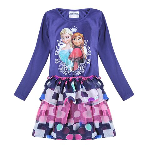fashion dress tutu tops baby clothes children clothing clothes print princess