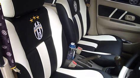Aksesoris Mobil Motif Zebra Sarung Jok Mobil Paten Motif Klub Sepakbola Juventus Untuk