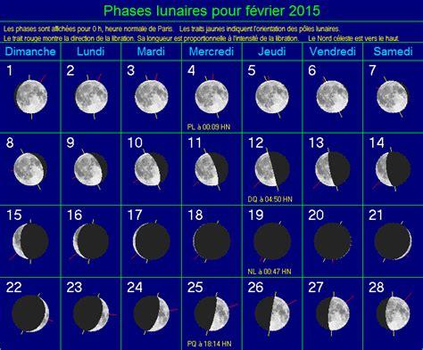 Calendrier Lunaire Fevrier 2015 Ph 233 Nom 232 Nes Astronomiques 224 Observer En Fevrier 2015