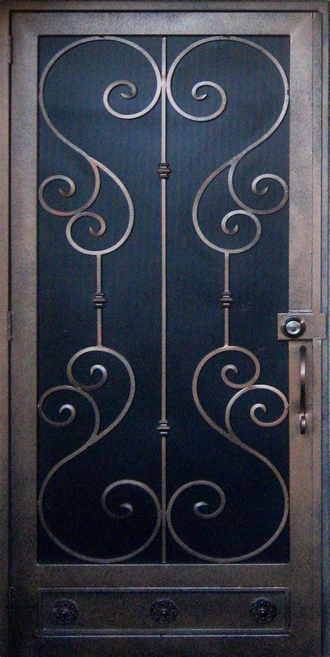 Iron Security Doors by Security Screen Doors Iron Security Screen Door