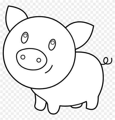 pig clipart black and white pen color page clipart clipart kid pig clipart black and