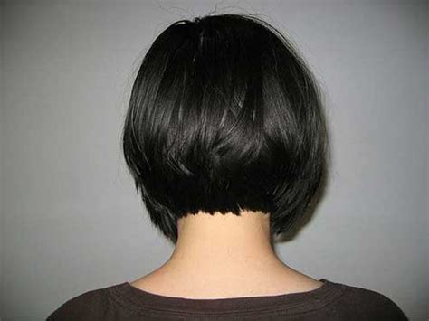 photos of the back of short angled bob haircuts back view of short bob haircuts bob hairstyles 2017