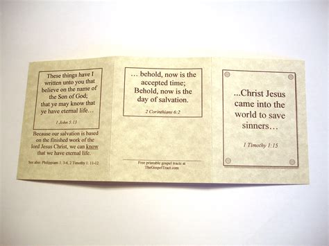 Download Free Software Templates For Gospel Tracts Rutrackergeek Church Tracts Templates