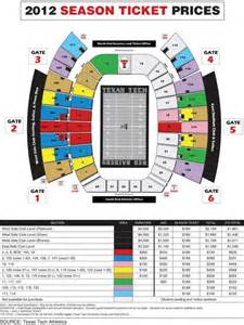texas tech football seating map tech holds line on season tickets lubbock lubbock avalanche journal