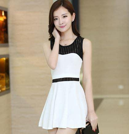 Korea Dress Shania Black Size L aliexpress buy s plus size summer dress black and white korean style office