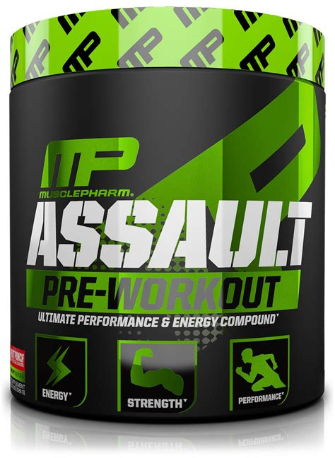 D8322 Assault Mp 30 Servings Mp Prework Out Ne Kode Rr8322 1 musclepharm combat 100 whey protein powder chocolate milk 5 pound 68 servings