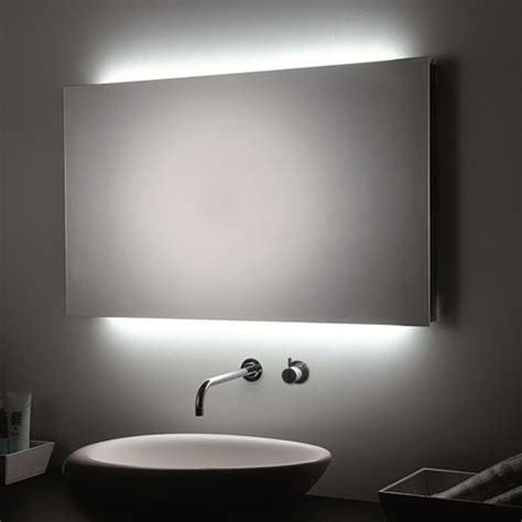 bathroom wall mirrors with lights led bathroom mirror the best solution in the interior