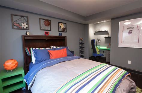 Athletic Room Prop House by Get The Lighting Featured On Property Brothers Dionna And