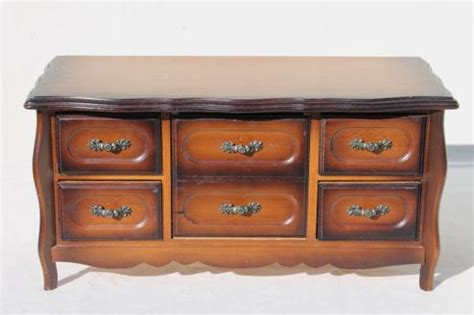 chest of drawers with jewelry storage 80s vintage jewelry box chest of drawers velvet lined