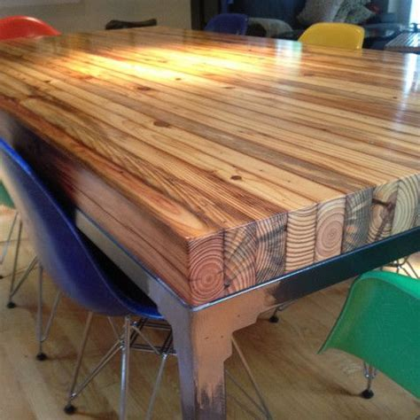 butcher block table top diy butcher block dining table plans search house