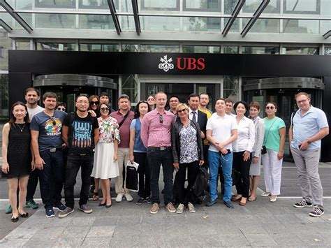 Sbs Mba by Sbs Welcomes Guest Students From Astana Sbs Swiss