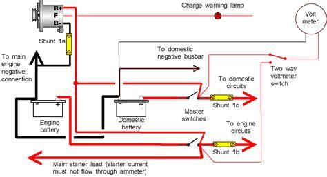 ammeter wiring diagram ammeter wiring moyer marine