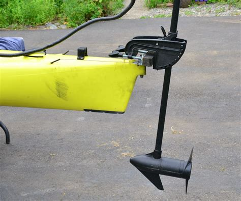 electric trolling motor canoe mount kayak trolling motor