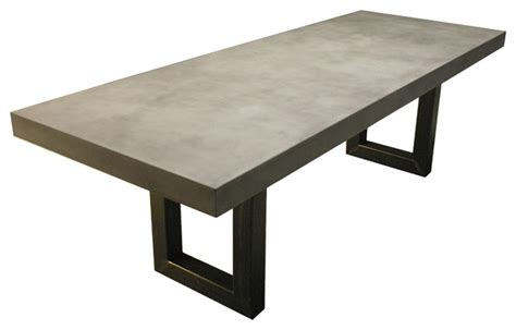 zen concrete table contemporary dining tables new