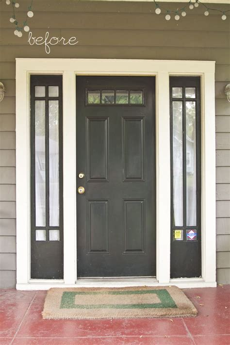painted front door top 25 ideas about black front doors on pinterest entry