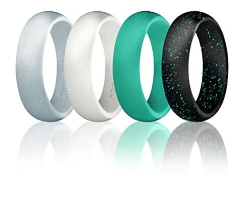 rubber wedding sts silicone wedding ring for by roq affordable