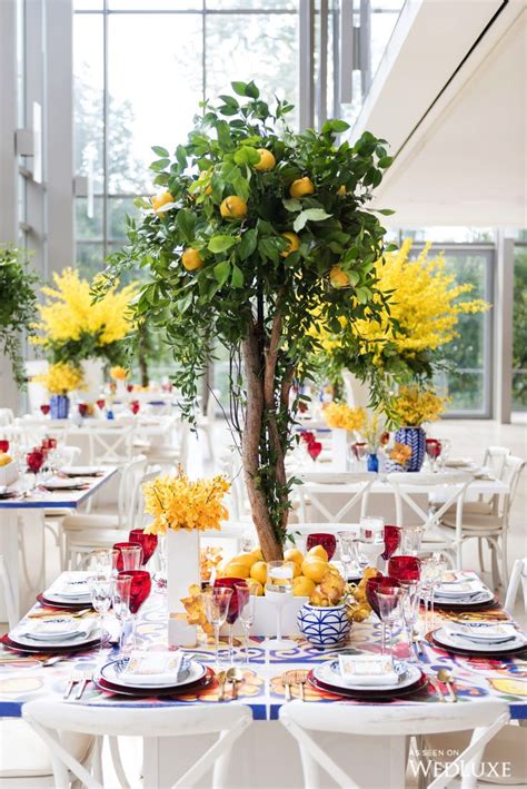 tree table centrepieces 25 best ideas about italian centerpieces on