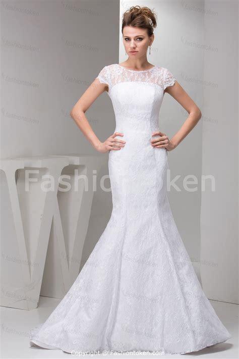 summer mermaid wedding dress with court traincherry