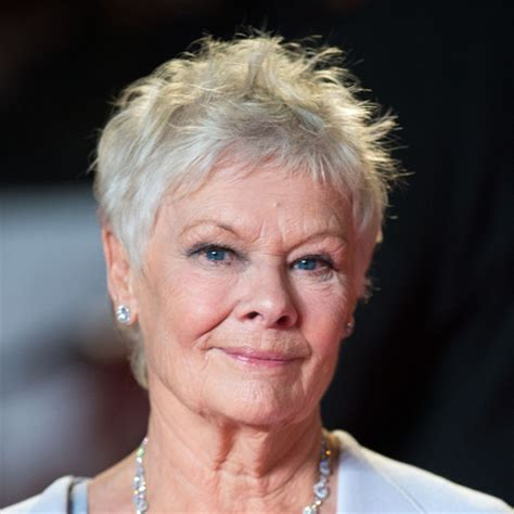 how to cut judi dench hair judi dench hair short hairstyle 2013