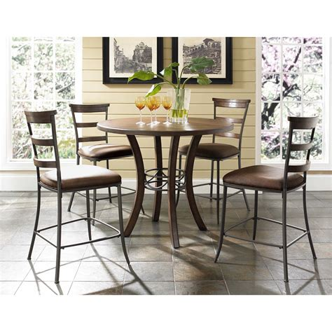 hillsdale cameron dining table hillsdale cameron counter height dining table