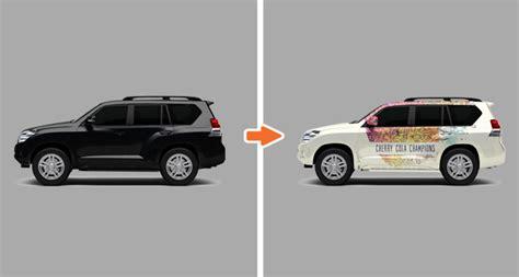 Vehicle Mockup Templates Pack Vehicle Wrap Templates Photoshop