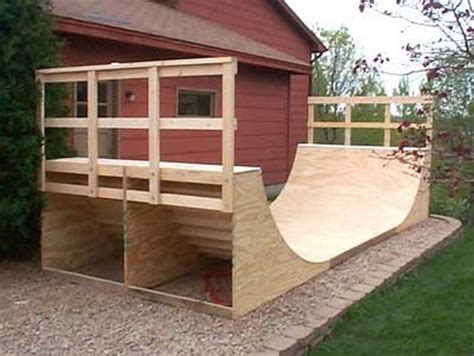Building A Halfpipe In Your Backyard How To Build A Halfpipe