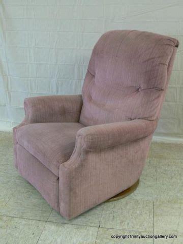fabric swivel rocker recliner la z boy mauve brush fabric swivel rocker recliner