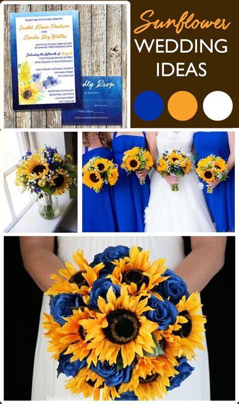 Summer Wedding Invitation   Sunflower Wedding Invitations