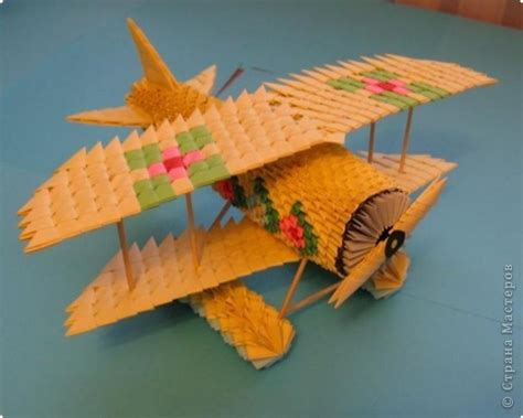 3d Origami Airplane - tutorial mc plane 3d origami