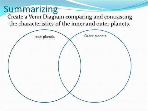 Inner And Outer Compare And Contrast Essay by Science Focus Lesson Sc 5 E 5 3 Solar System Ppt