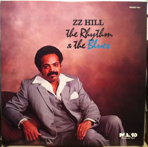 zz hill the rhythm blues lp 1982 mint vinyl mal 7411