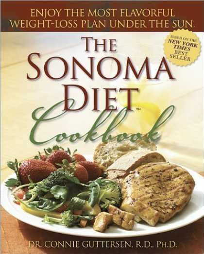 The Sonoma Diet Dr Connie Guttersen by Bestsellers 2006 Covers 1150 1199