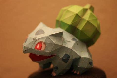 Bulbasaur Origami - origami 3d origami diy y