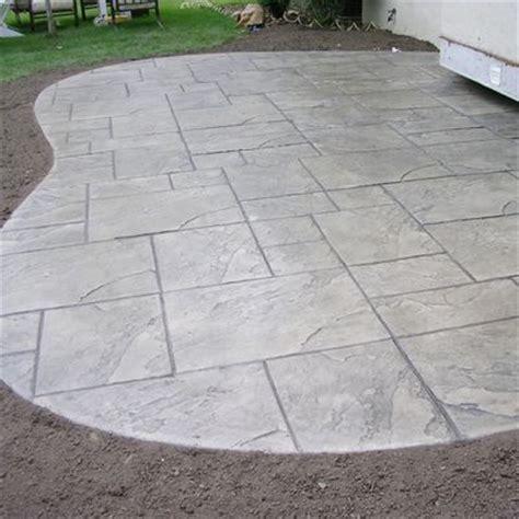 cement patio designs best 25 sted concrete patios ideas on