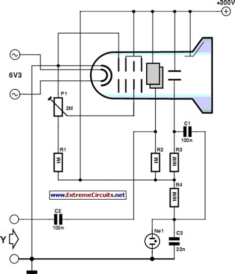diagram of oscilloscope minimalist oscilloscope circuit diagram
