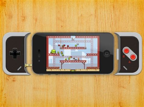 iphone controller iphone nes controller how about it