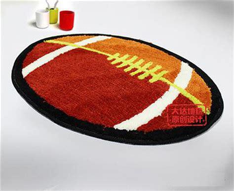 lovely rugby football bathroom rug contemporary bath