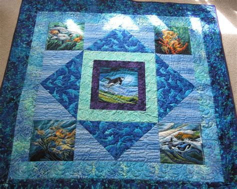 Quilt Panels by Panels Quilt By Sky High Fibers Quilting Pattern