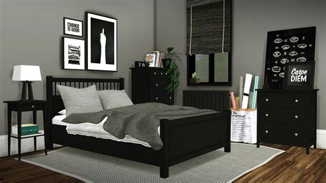 bedroom set ikea my sims 4 blog ikea hemnes bedroom set by mxims