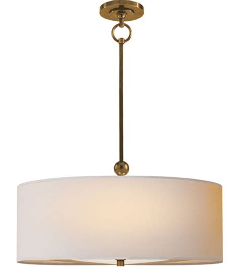 visual comfort lights visual comfort thomas o brien reed pendant in hand rubbed