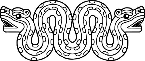 aztec coloring pages aztecs snake coloring page wecoloringpage
